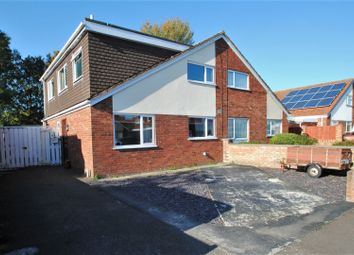 Thumbnail 3 bed semi-detached house for sale in Highburn Close, Burnham-On-Sea