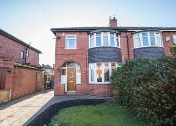 Thumbnail 3 bed semi-detached house for sale in Woodlands Avenue, Eccles