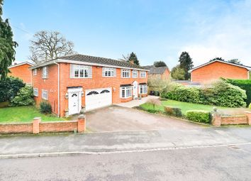 Thumbnail 5 bed detached house to rent in Harwood Gardens, Old Windsor, Windsor