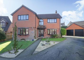 Thumbnail 4 bed detached house for sale in Mannering Close, River, Dover