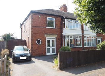 Thumbnail 4 bed semi-detached house for sale in Windsor Road, Newark