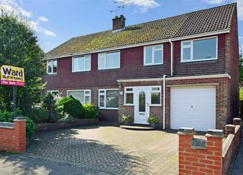 Thumbnail 4 bed semi-detached house for sale in Robins Close, Lenham, Maidstone, Kent