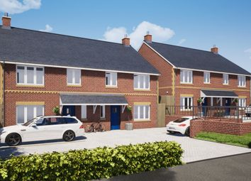 Thumbnail 4 bed semi-detached house for sale in Plot 3, The Firs, Cullompton