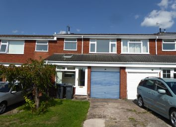 Thumbnail 3 bed terraced house to rent in Crookham Close, Harborne, Birmingham