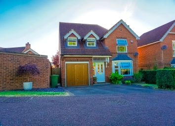 Thumbnail 4 bed detached house for sale in Hengistbury Lane, Milton Keynes