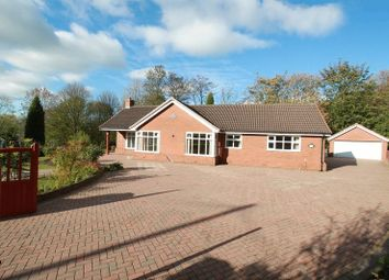 Thumbnail 3 bed detached bungalow for sale in Hillwood Road, Madeley Heath, Crewe