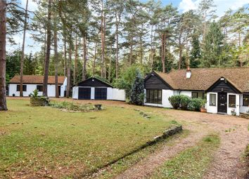 Thumbnail 4 bedroom detached bungalow to rent in Lower Wokingham Road, Crowthorne, Berkshire