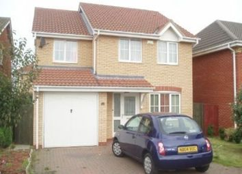 Thumbnail 4 bed detached house to rent in Park Farm Way, Peterborough