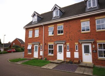 Thumbnail 3 bed terraced house for sale in Monck Drive, Nantwich
