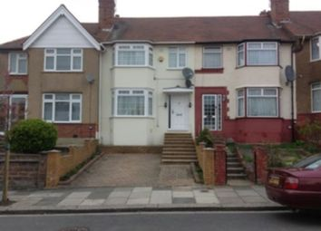 Thumbnail 3 bed terraced house to rent in Northwood Gardens, Greenford