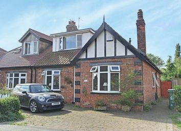 Thumbnail 4 bed semi-detached bungalow for sale in Thorn Road, Hedon, Hull