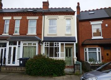 Thumbnail 3 bedroom end terrace house for sale in Melton Road, Kings Heath, Birmingham, West Midlands