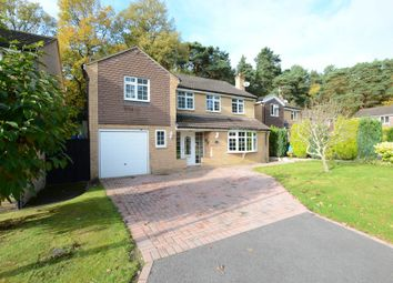Thumbnail 4 bedroom detached house to rent in Compton Close, Sandhurst