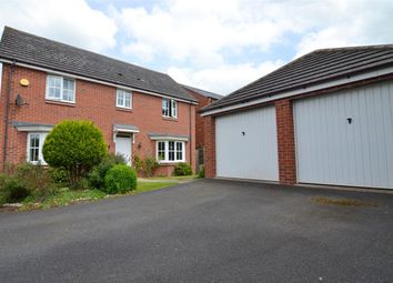 Thumbnail 4 bed detached house for sale in Hunters Close, Great Haywood, Stafford