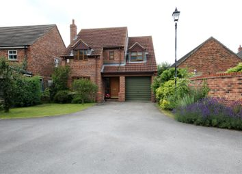 Thumbnail 4 bedroom detached house for sale in Vine Gardens, Bubwith, Selby