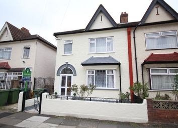 Thumbnail 3 bed semi-detached house for sale in Penberth Road, London