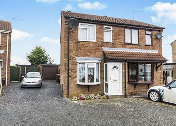 Thumbnail 2 bed semi-detached house for sale in Beaufort Close, Lincoln