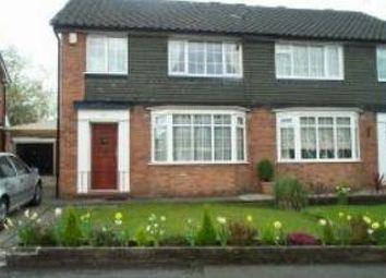 Thumbnail 3 bed property to rent in Fountains Road, Bramhall, Stockport