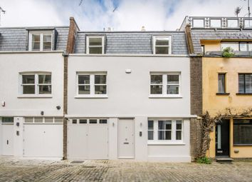 Thumbnail 3 bed mews house for sale in Leinster Mews, London