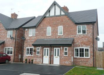 Thumbnail 3 bed semi-detached house to rent in Hillswood Avenue, Leek, Staffordshire