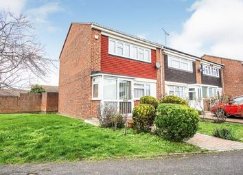 Thumbnail 2 bed end terrace house for sale in Neave Crescent, Romford