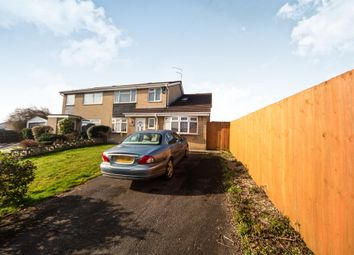 Thumbnail 4 bedroom semi-detached house for sale in Highdale Close, Llantrisant, Pontyclun