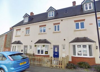 Thumbnail 4 bed town house for sale in Ffordd Y Draen, Coity, Bridgend.