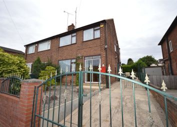 Thumbnail 3 bed semi-detached house for sale in Cross Heath Grove, Leeds, West Yorkshire