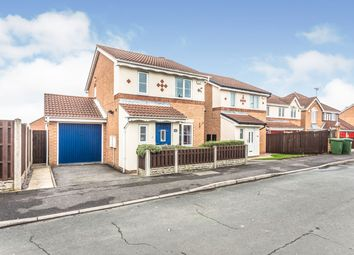 Thumbnail 3 bed detached house for sale in Manorfields Avenue, Crofton, Wakefield