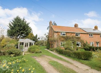 Thumbnail 3 bed semi-detached house for sale in Wood Lane, Starston, Harleston