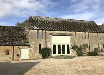 Thumbnail 4 bed barn conversion to rent in The Butts, Poulton, Cirencester