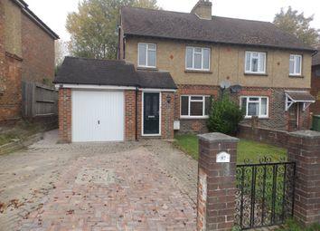 Thumbnail 3 bed semi-detached house to rent in Powder Mill Lane, Tunbridge Wells