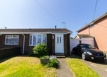 Thumbnail 1 bed semi-detached bungalow for sale in Winterswyk Avenue, Canvey Island