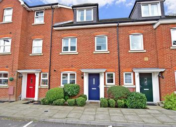 Thumbnail 3 bed town house for sale in Silver Streak Way, Strood, Rochester, Kent