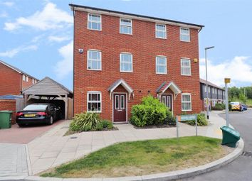 Thumbnail 3 bed town house for sale in Mercer Avenue, Ebbsfleet Valley, Swanscombe