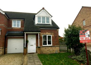 Thumbnail 3 bed semi-detached house for sale in Connaught Road, Scunthorpe