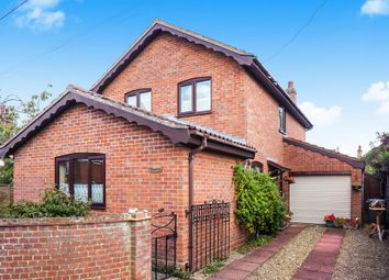 Thumbnail 3 bed detached house for sale in Rose Lane, Bungay