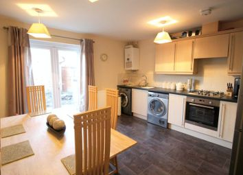 Thumbnail 2 bedroom terraced house for sale in Robins Crescent, Witham St Hughs, Lincoln