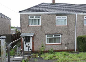 Thumbnail 2 bed end terrace house for sale in Colwyn Avenue, Winch Wen, Swansea