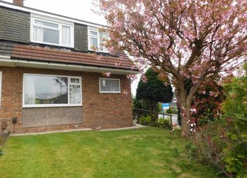 Thumbnail 3 bedroom semi-detached house for sale in Churchill Crescent, Marple, Stockport