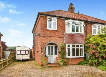 Thumbnail 3 bed semi-detached house for sale in Holt Road, Hellesdon, Norwich