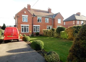 Thumbnail 3 bed semi-detached house to rent in Doncaster Road, Costhorpe, Worksop