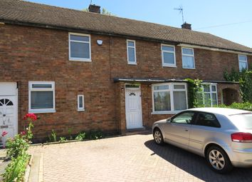 Thumbnail 3 bed terraced house for sale in Withcote Avenue, Leicester