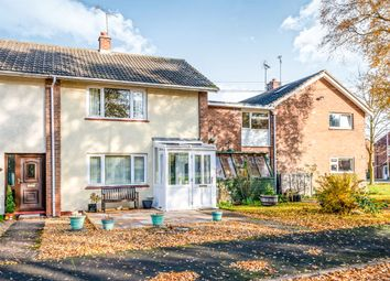 Thumbnail 2 bedroom end terrace house for sale in Hilsea Crescent, Marchington, Uttoxeter
