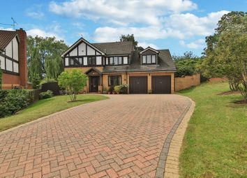 Thumbnail 5 bedroom detached house for sale in Tregarn Close, Langstone, Newport