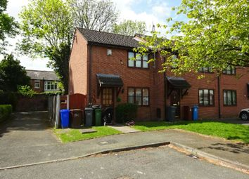 Thumbnail 2 bed end terrace house for sale in Abbotside Close, Whalley Range, Manchester