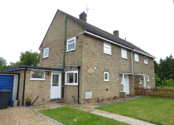 Thumbnail 3 bed semi-detached house for sale in Scotts Road, Glinton, Peterborough