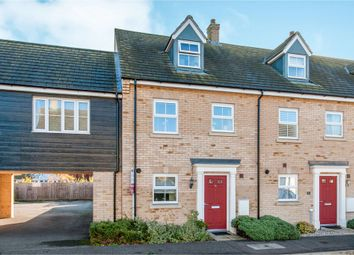 Thumbnail 3 bed town house for sale in Mead Road, Bury St. Edmunds