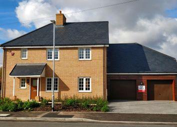 Thumbnail 5 bed detached house for sale in Plot 1, 'the Chancellors', Blunham Road, Moggerhanger
