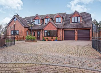 Thumbnail 4 bed detached house for sale in Nelthorpe Close, Ulceby